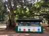 Mülltrennung im Botanischen Garten in Kandy #Affenbar #exkursionsrilanka2019_mkfoto