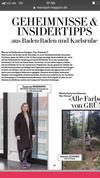 Monopol Karlsruhe und Baden-Baden #SusanneKriemann Foto by #JonasZilius in der #Bundesanwaltschaft mit Blick auf die HfG