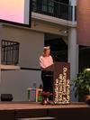 Semestereroeffnung und #JudithMilz empfängt drn #RotaryPreis für Ihre Arbeit! Herzlichen Glueckwunsch!