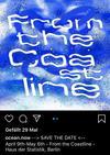 fromthecoastline #oceannow #hausderstatistik #mermaidtears #microplastic Vernissage am 9. April, 19Uhr!