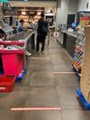 socialdistancing #covid19  #supermarket