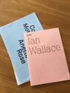 ianwallace und annetterose weekend reads und eine Abdruck auf Papier durch Bleichung